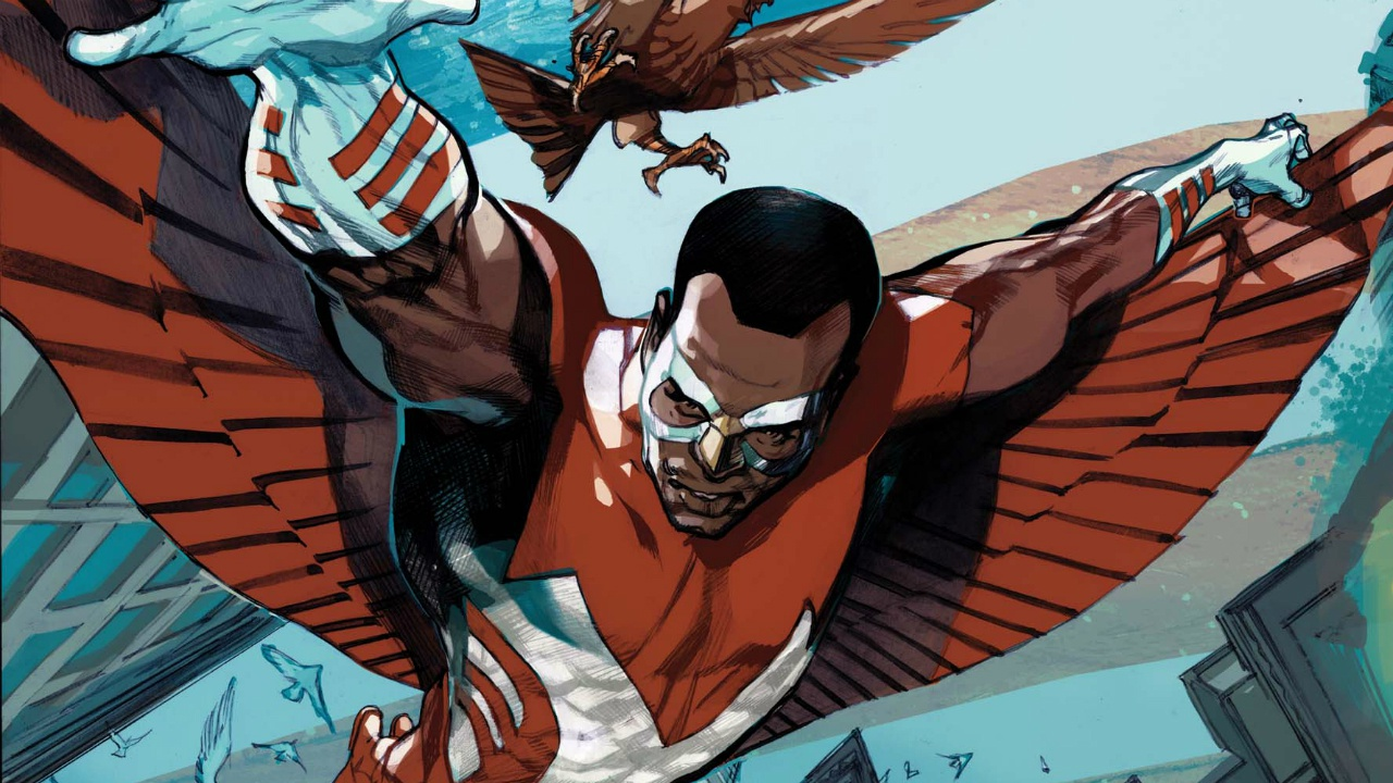 Marvel Comics reveals The Falcon is the new Captain America - Movie ...