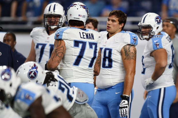Taylor Lewan, Jack Conklin big for Titans during game-winning drive vs ...
