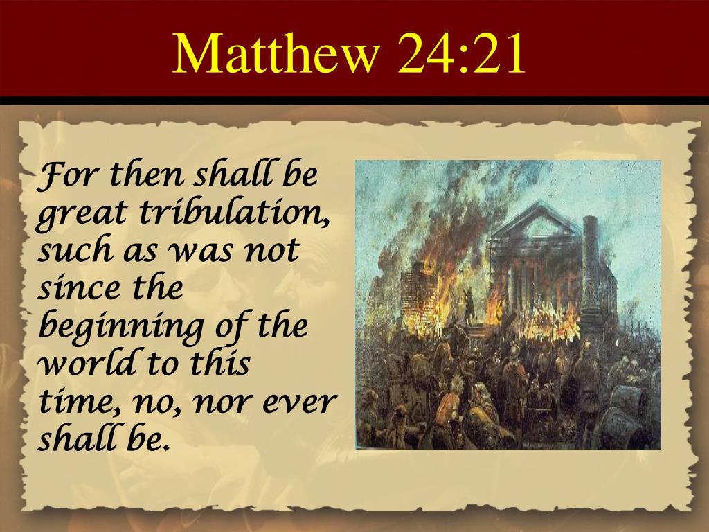 PPT - Matthew Chapter 24 PowerPoint Presentation - ID:179124