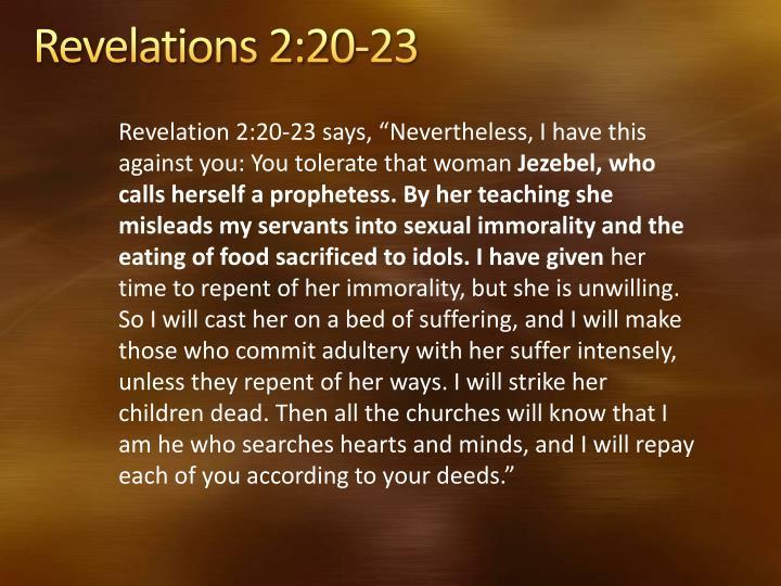 PPT - Discerning the Jezebel Spirit PowerPoint ...