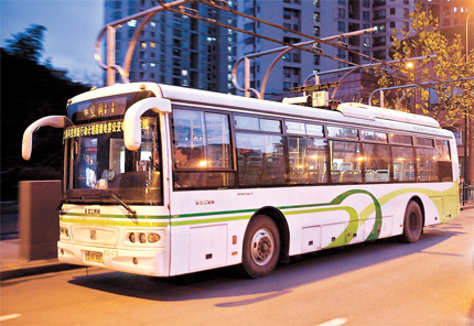 City pledges 10% of buses to be green by end of 2015 ...