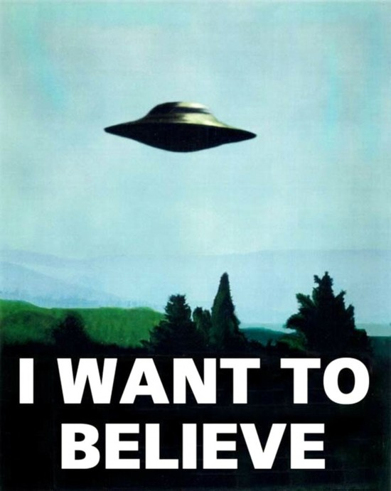 i want to believe ufo x-files