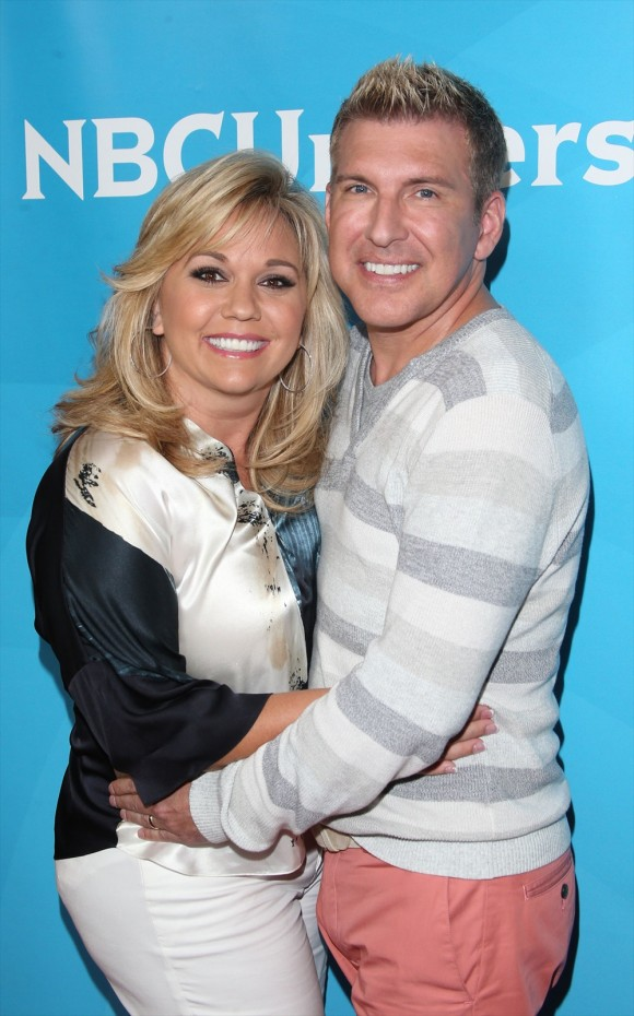 Todd Chrisley with Wife