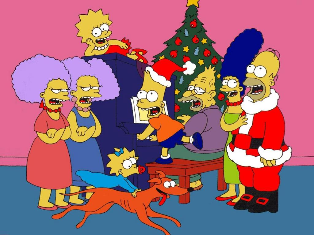 Christmas Simpsons -- Christmas