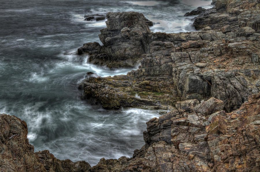 Louisbourg Ocean Cliff V1 is a photograph by Timothy Gray which was ...