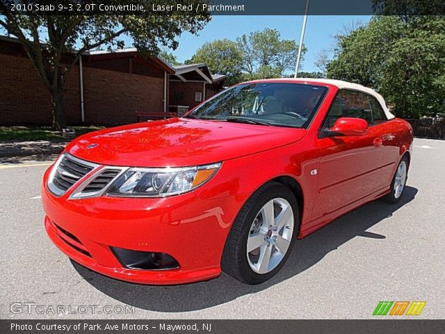 2010 Saab 9-3 2.0T Convertible in Laser Red.- GM recalls nearly 30,000 Saab 9-3 convertibles