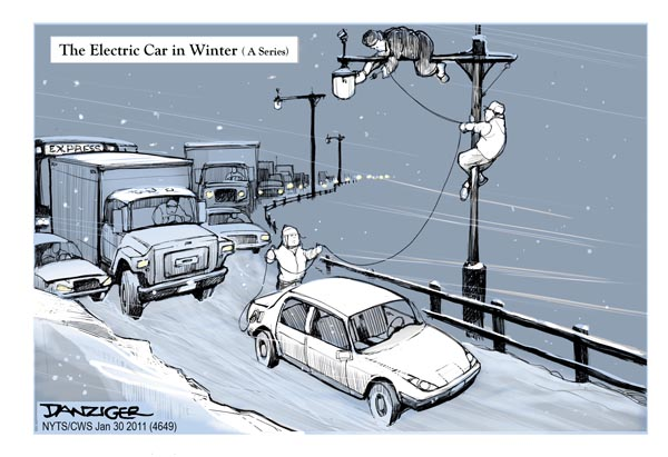 Electric Cars in Winter | HuffPost