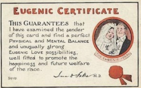 "You think ""eugenics"" is a discredited practice? Think again, it's back. 