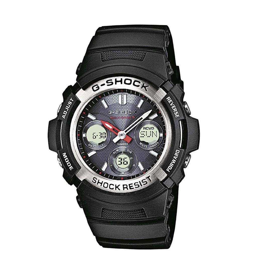 Casio AWGM100-1A Mens G-Shock Analogue & Digital Radio ...