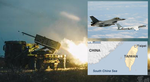China threatens Taiwan of air attacks, Taiwan claims to be ...