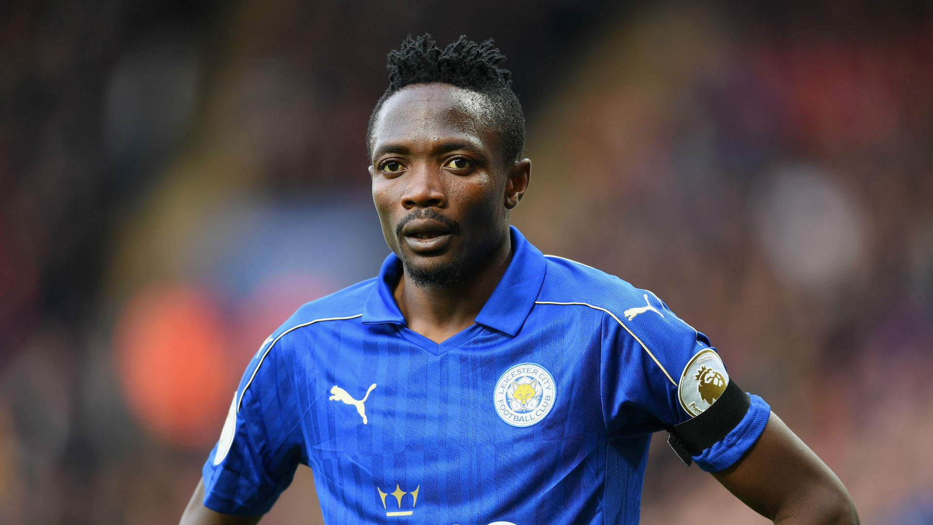 Den 25-år gammal, 170 cm lång Ahmed Musa in 2018 photo