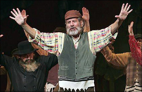 Topol Is Tevye in New Fiddler Tour, With Stout, Cella ...
