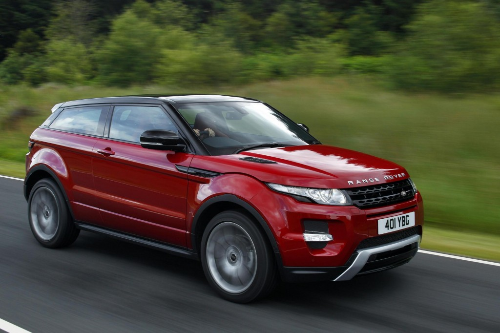 2013 Land Rover Range Rover Evoque - Land Rover recalls 46,515 SUVs in U.S., Canada for air bag issue