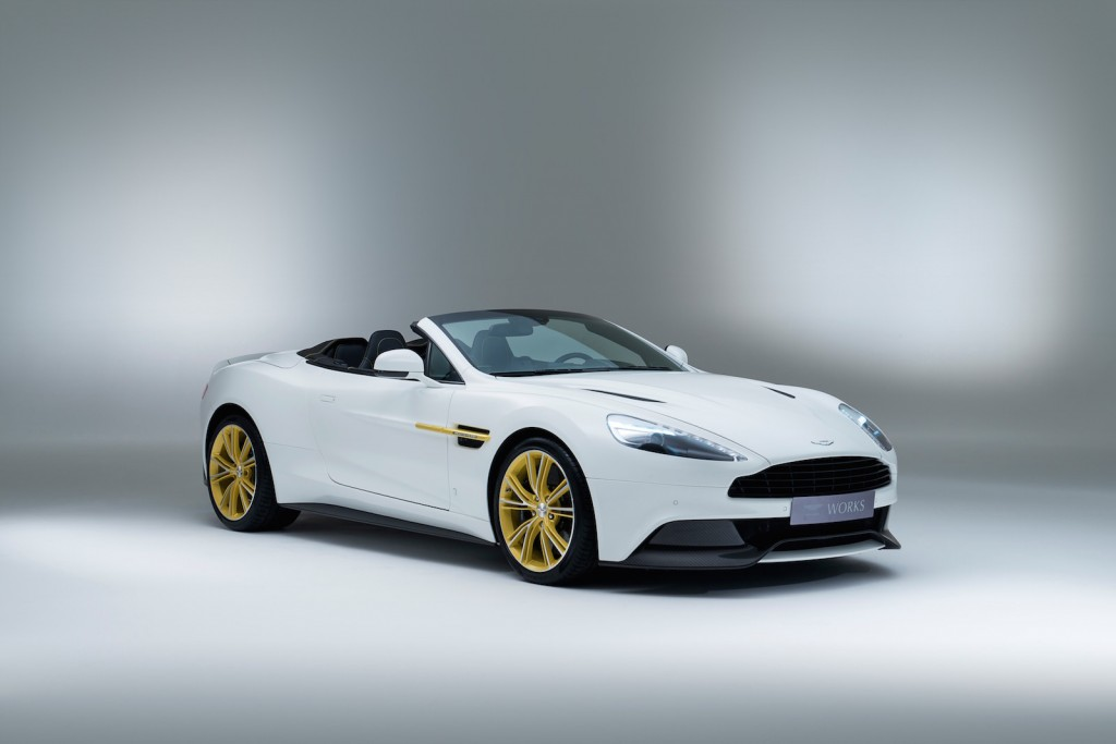 Image: Aston Martin Works 60th Anniversary Limited Edition Vanquish ...