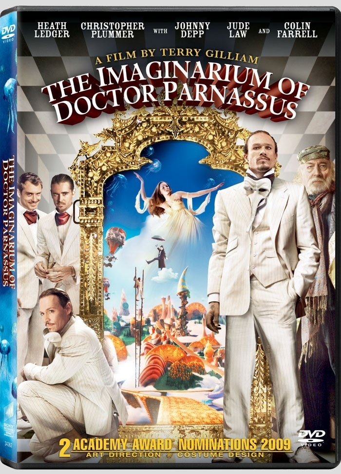The Imaginarium of Doctor Parnassus Doctor Parnassus DVD Cover