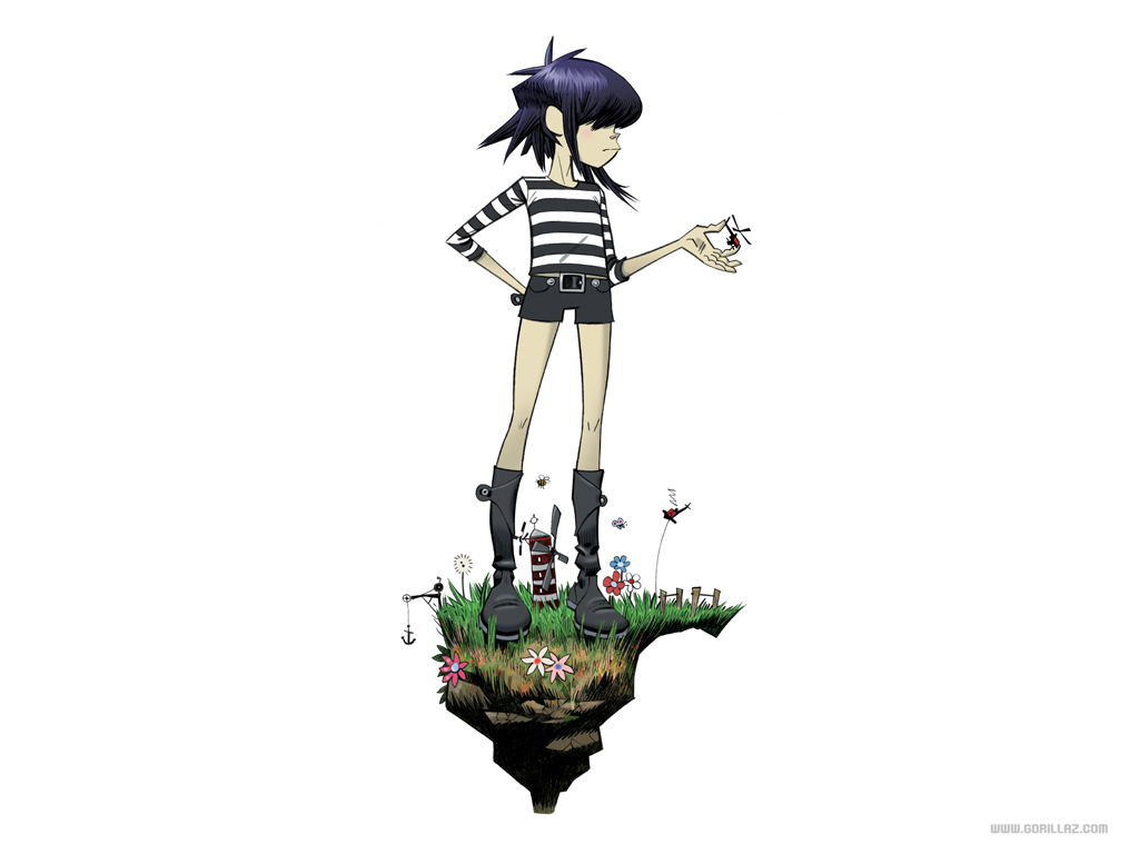 Noodle - Gorillaz Wallpaper (18606861) - Fanpop