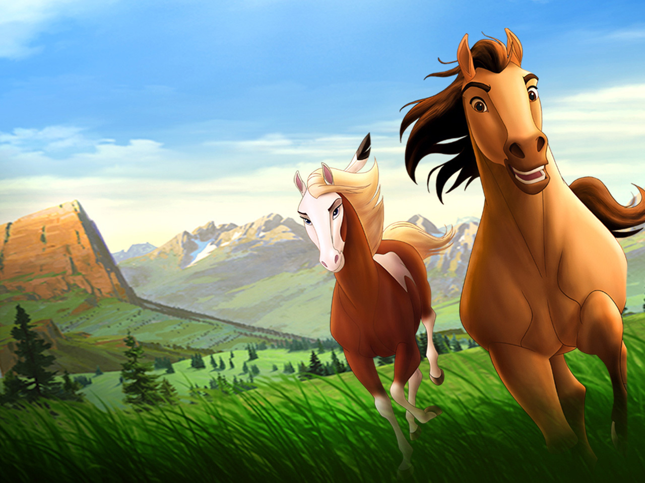 Spirit the Stallion images Spirit Wallpapers HD wallpaper and ...