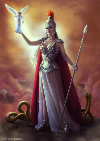 Athena - Greek Mythology Photo (35375799) - Fanpop