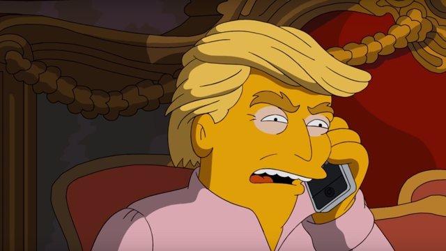 VÍDEO: Los Simpson se ríen (otra vez) de Donald Trump