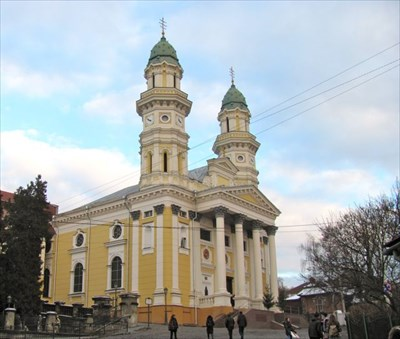 Cathedral of Exaltation of the Holy Cross - Uzhgorod, Ukraine - Cathedrals on Waymarking.com