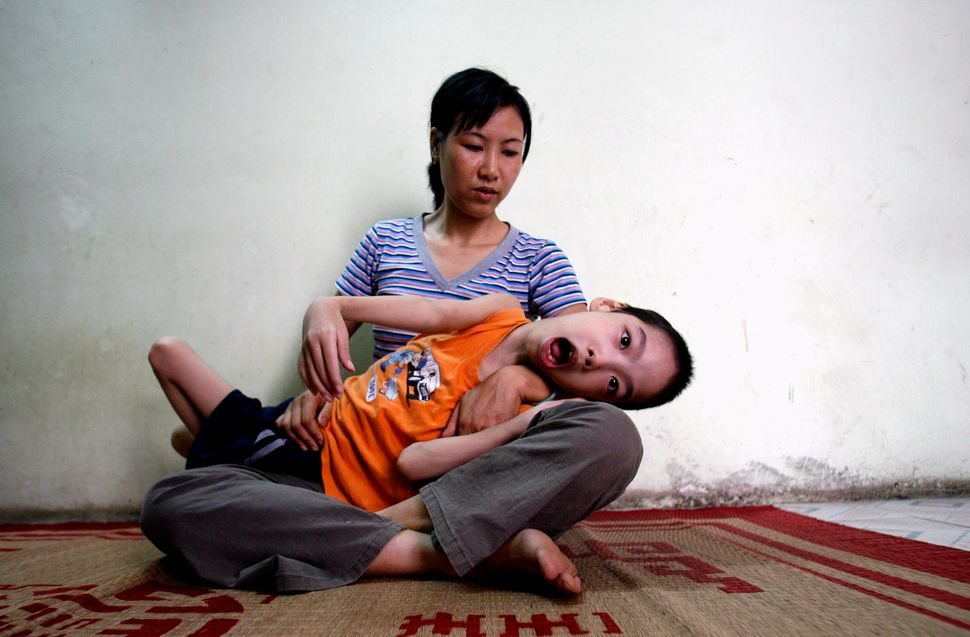 55 Years After Agent Orange Was Used In Vietnam, One Of ...