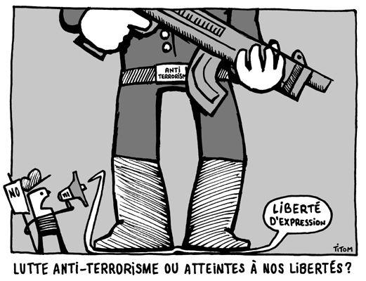 Non à la loi ANTITERRORISTE - Commun COMMUNE [le blog d'El ...