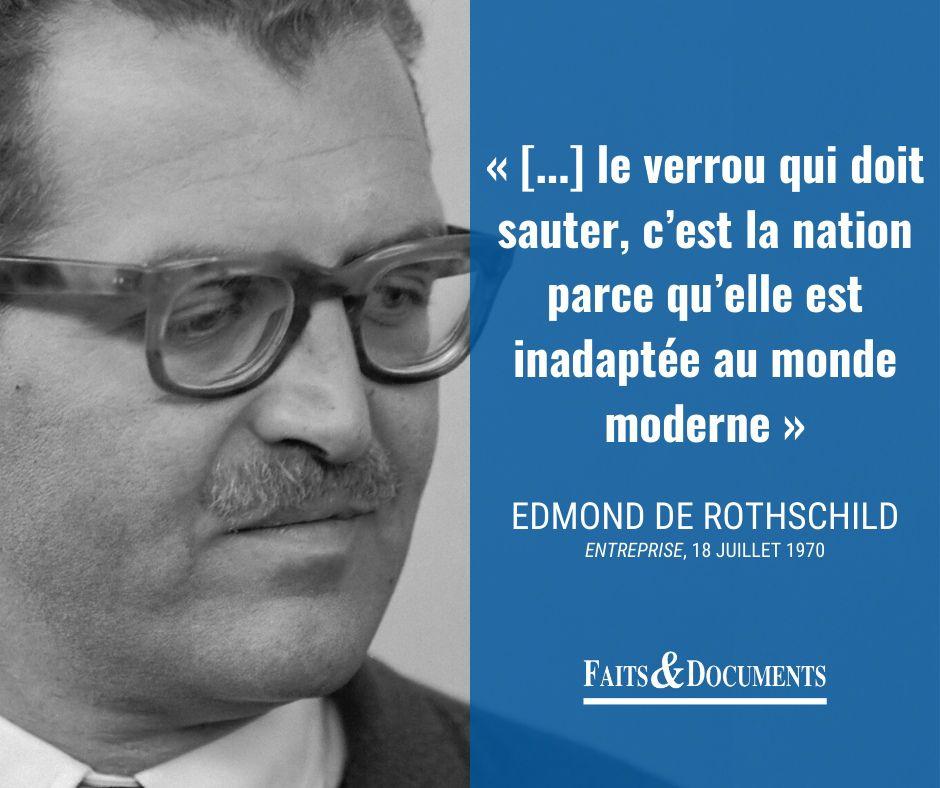 Edmond de Rothschild (1926-1997) - Impostures - Le Blog de ...