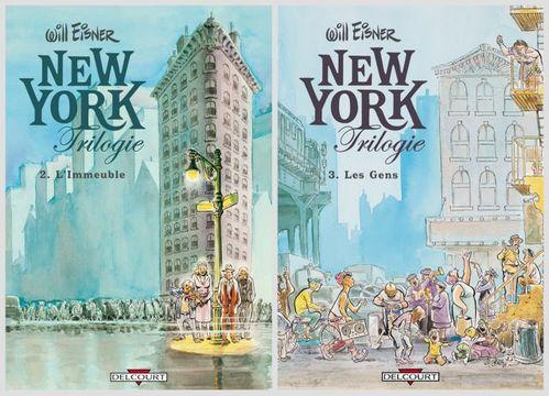 New York Trilogie - 2. l'Immeuble - 3. les Gens - Will Eisner