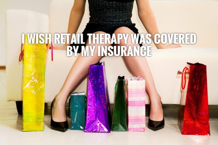 Retail Therapy Quotes. QuotesGram