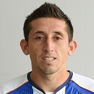 The 28-year old son of father (?) and mother(?), 180 cm tall Héctor Herrera in 2018 photo