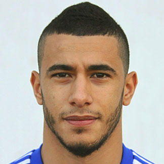 The 27-year old son of father (?) and mother(?), 177 cm tall Younès Belhanda in 2017 photo