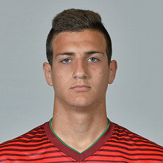 The 18-year old son of father (?) and mother(?), 183 cm tall Diogo Dalot in 2018 photo