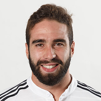 Den 26-år gammal, 173 cm lång Dani Carvajal in 2018 photo