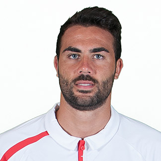 The 29-year old son of father (?) and mother(?), 190 cm tall Vicente Iborra in 2017 photo