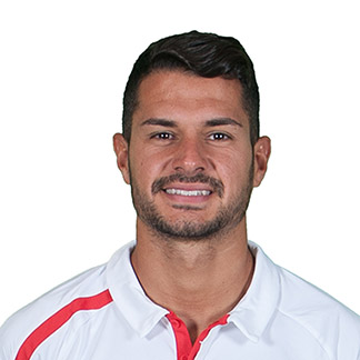 The 27-year old son of father (?) and mother(?), 183 cm tall Vitolo in 2017 photo