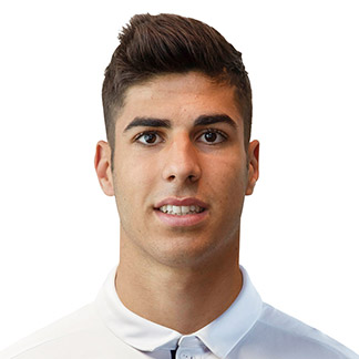 The 22-year old son of father (?) and mother(?), 180 cm tall Marco Asensio in 2018 photo