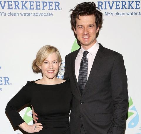Rachael Harris with Husband Christian Hebel