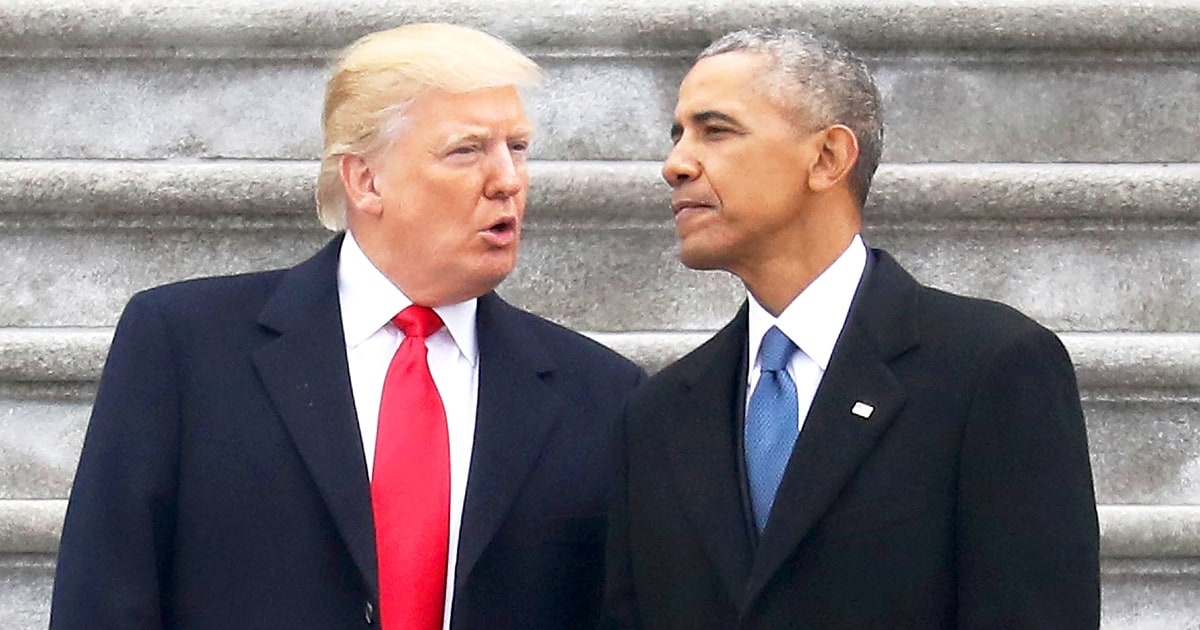 Obama, Trump Tie as Most Admired Man in 2019…