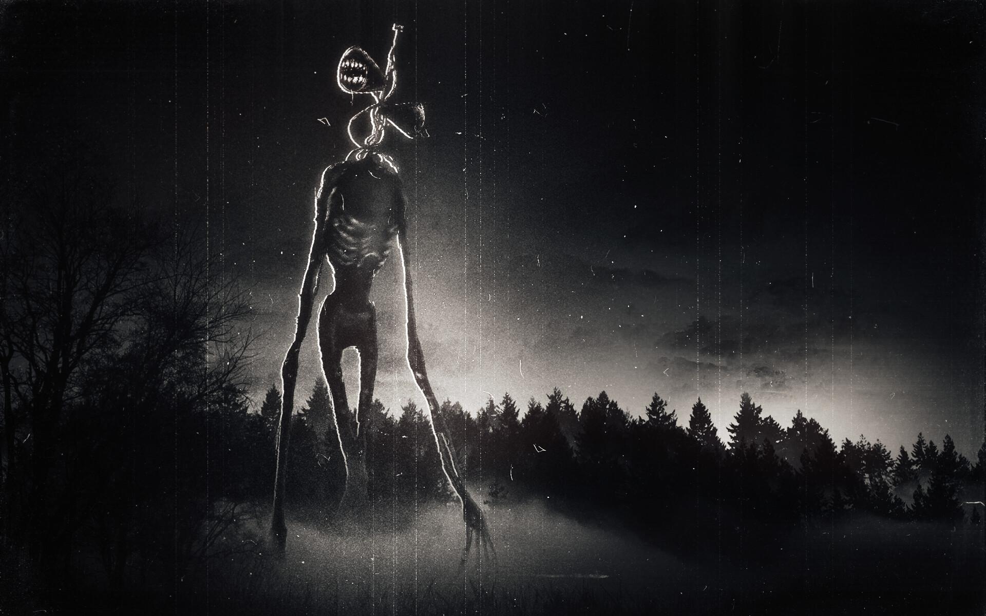 Сиреноголовый / Мрачные картинки :: монстр :: Siren Head ...
