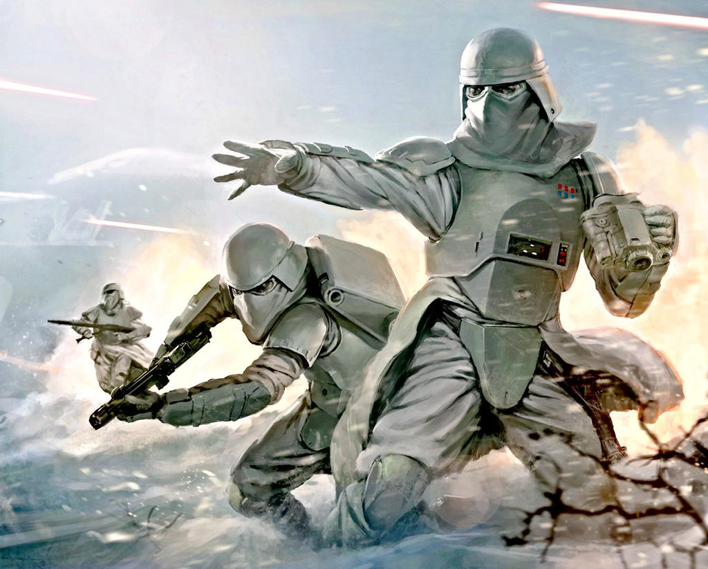 Imperial Military the Star Wars snowtrooper by lieon-Cooke ...