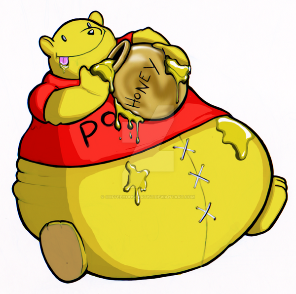 fat pooh by Coffeehouseartist on DeviantArt