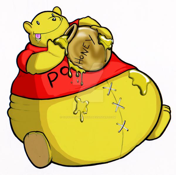 fat pooh by Coffeehouseartist on DeviantArt