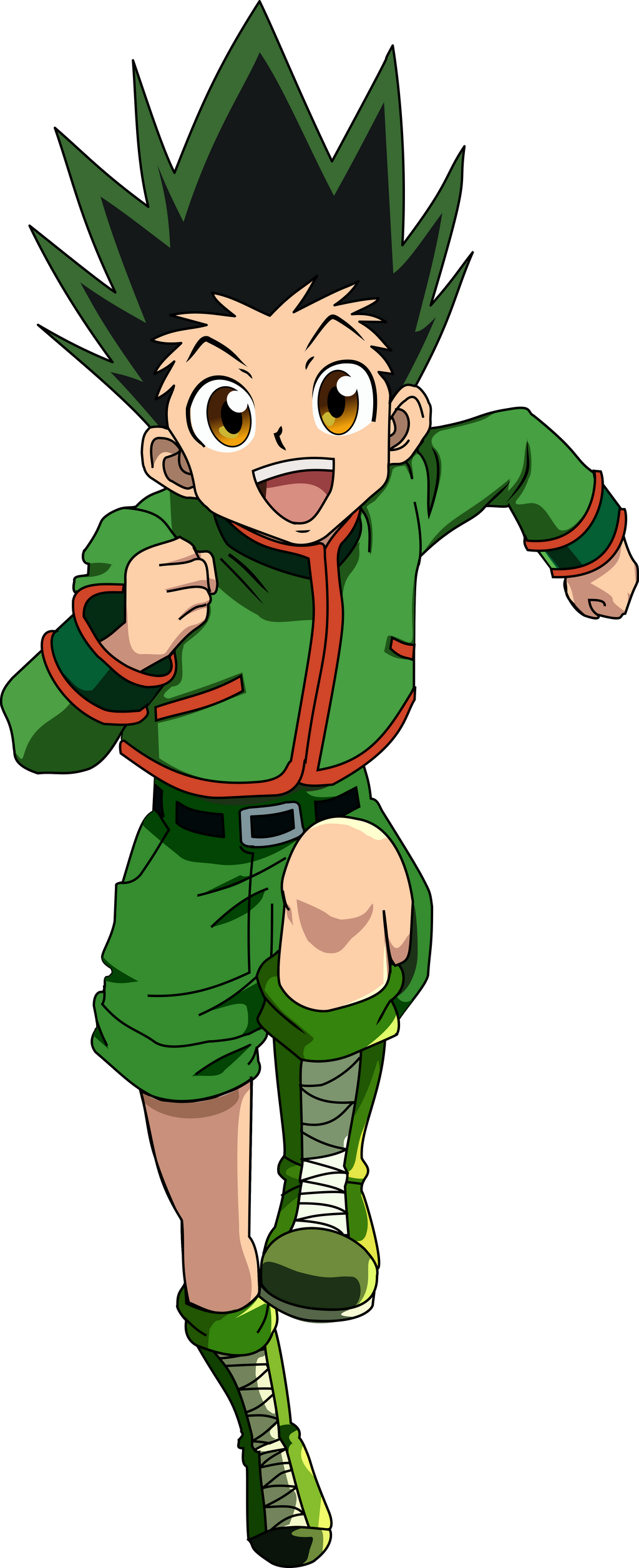 Gon Vector by Neighthirst on DeviantArt