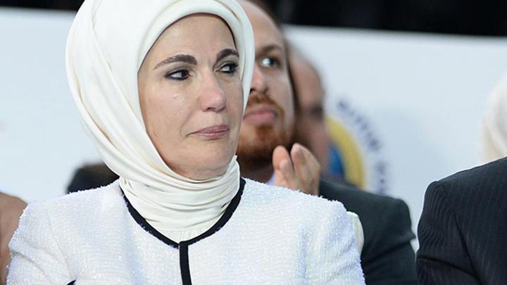 Emine Erdoğan yemin törenini locada izledi!