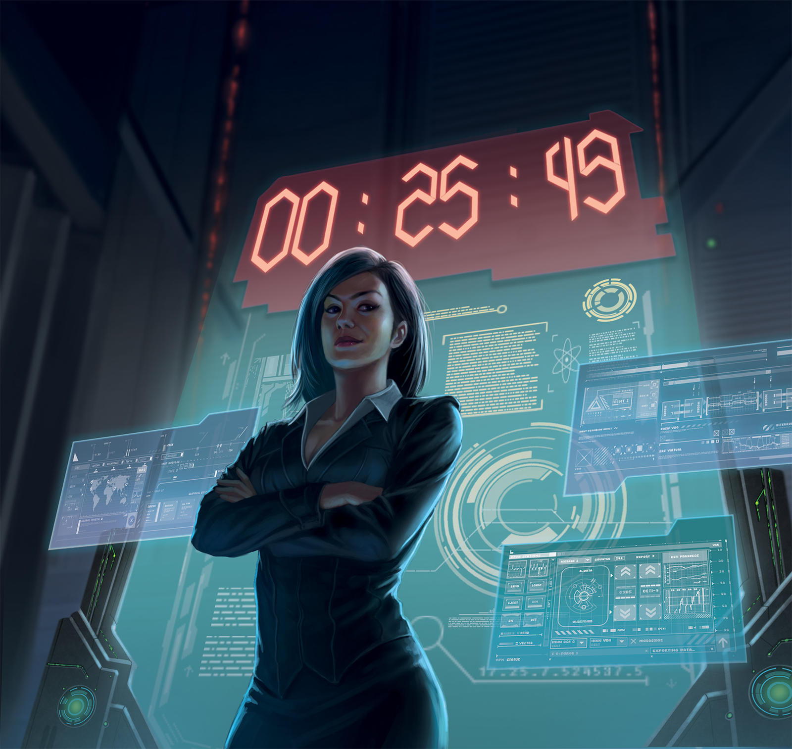Netrunner : The Hours Tick By by macarious on DeviantArt