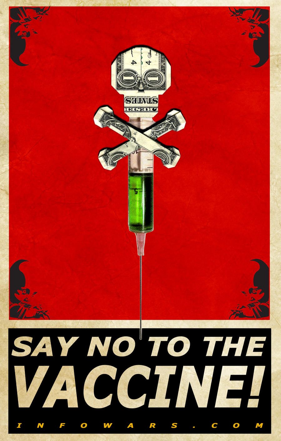 Say no to the vaccine by Ade5 on DeviantArt