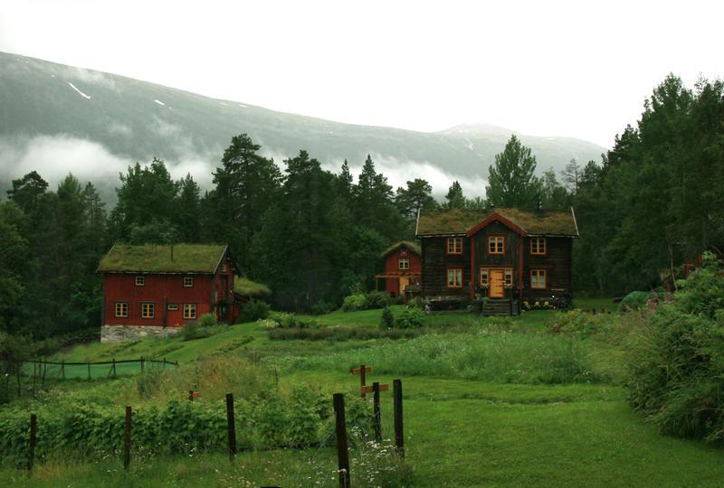 Norwegian Organic Farm by Navanna on DeviantArt