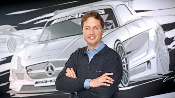 Ola Källenius - Mercedes sales chief, Kaellenius, seen as possible Zetsche successor