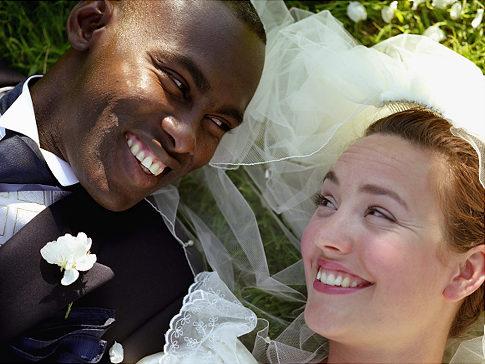 Typisk bild vid sökning på White Marriage
