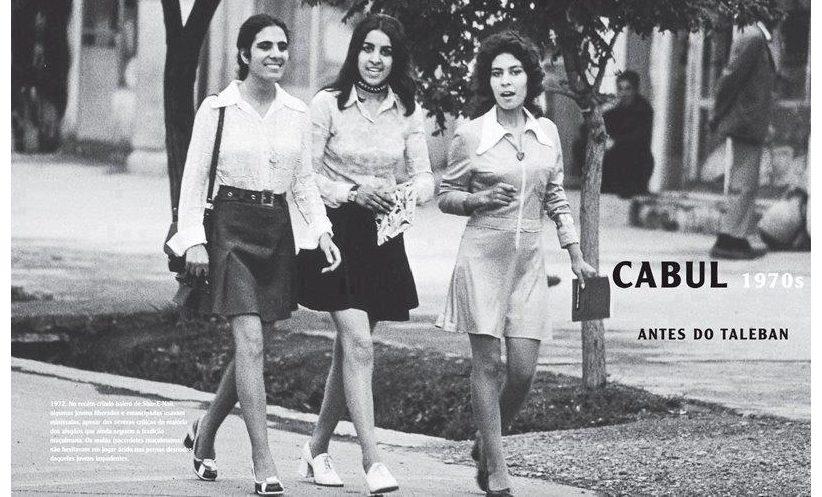 Afghan Girls in Mini skirts
